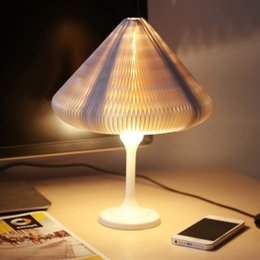 Wholesale Environmental Control - Mini Changeable Environmental LED Lamp Creative Touch Control Bedroom Desk Night Light