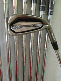 Wholesale Wholesale Golf Irons - Freeshipping 2017 New mens Golf Clubs JPX EZ Golf irons set 4-9.P.G irons clubs with Graphite Golf shafts and steel shafts