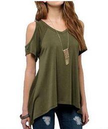 Wholesale Long Tank Top Xxl Women - Women Casual Personalized Tops Famale O-Neck Vest women Sleeveless T-shirt Irregular Hem Long Tank Tops Plus size S-XXL