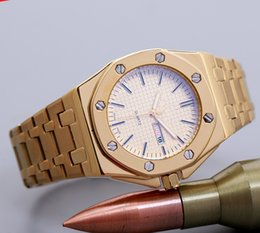 Wholesale Premium Watches - 2016 crime premium brand clock watch date men steel band watches professional sports watches