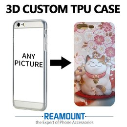 Wholesale Mobile Cover Back Paintings - 3D Stereo Relief Painting Soft Silicon Back Cover Case for iphone 7 7plus for iphone 6 6plus Mobile Phone Case DIY Pattern Case