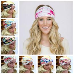 Les femmes d'Europe et des États-Unis ont imprimé des bandes de cheveux en dentelle à la mode avec des bandes de cheveux de yoga CA200 ? partir de fabricateur