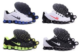 Wholesale Big Cheap Shoes - Big discount new Shox Tlx Kpu Running Shoes for Men Disount Cheap Top Shox Athletic Mens Outdoor Training Sport Sneakers