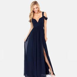 Vestido de fiesta europeo superior de la manera 2017 recién llegado sin respaldo con cuello en v mujeres atractivas Vestido elegante mujer larga vestidos de la marca Maxi Dresses DR129 desde fabricantes
