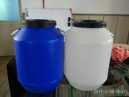 Wholesale Drum Handles - Blowing mould 50L plastic drum with lid and handle