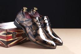 Wholesale Spike Heel Wedges - Fashion Designer Brand Black Glitter Spikes Red Bottom Loafers Shoes Men Flats Wedding Party Male Gentlemen Dress Oxford Shoes