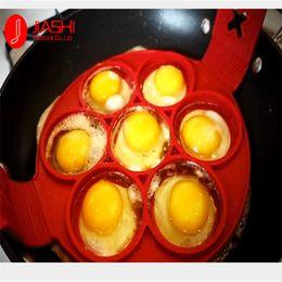 fda embalagem de alimentos Desconto 2017 NonStick Fantástico Pancake Flip Pan Perfeito Fabricante De Café Da Manhã Ovos Omelete Ferramentas Flipjack 7 Grades Pancake Maker