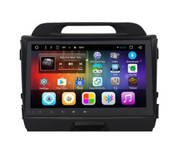 Wholesale Polish Screen - Pure android 6.0 9inch Car DVD Radio for Kia Sportage 2011-2015 with Capacitive screen 3G 4G WIFI BT SWC GPS