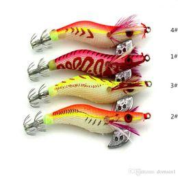2019 señuelos de madera Simulación Océano Ir pesca Luminoso Madera camarón En caja Señuelo Plástico Cebo de pesca Suministros de pesca Bionics Cebo falso 8 cm 7.2 g rebajas señuelos de madera