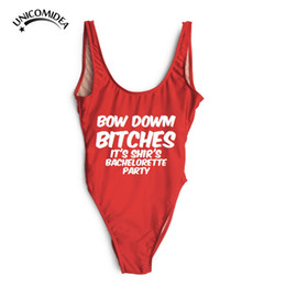 Wholesale Womens Animals Costumes - Wholesale- Hot Sale Womens Swimwear Beyonce Bodysuit Jumpsuits Costume Sports Wear Sexy Slim One Piece Swimsuit Backless Bathing Suit