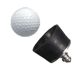 Wholesale Golf Screw - Wholesale- Excellent quality mini Rubber Golf Ball Pick Up Putter Grip Retriever Tool Suction Cup Pickup Screw golf training aids black