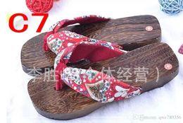 Wholesale Slipper Shoes Clog - clogs WOMEN shoes flip flops high heel sandals geta slippers women