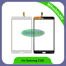 Wholesale Galaxy Lite - 7.0 inch t230 Digitizer For Samsung Galaxy Tab 4 Lite 7.0 T230 Touch Screen Digitizer Sensor Panel Free Shipping