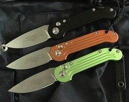 Wholesale Camping Outdoor Kitchen - 5391 folding knife D2 blade 6061-T6 Aluminum alloy handle outdoor camping hunting pocket fruit kitchen Knives EDC tool