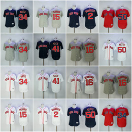 Wholesale Men s Boston Red Sox Jersey David Ortiz Dustin Pedroia Mookie Betts Andrew Benintendi Chris Sale Bogaerts Baseball Jerseys