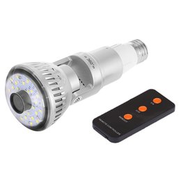 Wholesale Infrared Invisible - IB-185Y 10PCs WIFI Bulb Camera 960P P2P IP Camera infrared Night Vision IR light or invisible light camera AT