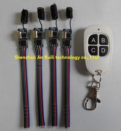 Wholesale 9v Remote Switch - Wholesale- Wireless Remote Control Switch 433mhz 3.7V 5V 6V 9V 12v Micro Receiver Switch+1pcs Transmitter DC3.5V-12V Wide Voltage 1A Mos
