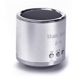 Wholesale Cheap Portable Speakers For Mp3 - Wholesale- 2016 Cheap FM Portable Speaker Z12 Mini Subwoofer Music Column Speakers Support USB Micro SD TF Card Mp3 4 For iphone Laptop PC