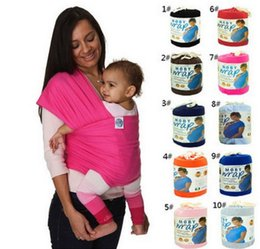 Wholesale Birth Fabric - Hotsales Colorful Baby Carrier Soft Infant Wrap Breathable Infant Sling Hipseat Breastfeed Birth Comfortable Nursing Cover