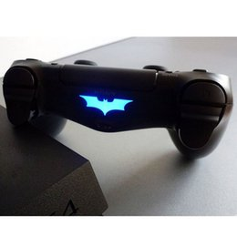 Wholesale Led For Skin - Hot High Qaulity PVC Decal Skin Custom For Playstation 4 LED Light Bar Decal Sticker for PS4 Dualshock Controller