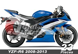 Wholesale Yzf R6 Fairings Black Gold - Fairing For YZF-R6 YZFR6 2008 2009 2010 2011 2012 2013 08-13 Injection Blue FD3611 White FD3622 Black FD3614 Gray FD3618 Gold F3632 Red 3645