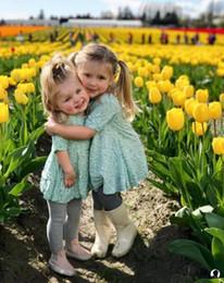 Wholesale Bohemian Jumpsuits - Baby Dress Jumper Jumpsuits Summer Dress Girls Kids Floral Bohemia Skirt Princess Cotton Keen-length INS girl toddler Summer clothes KD20
