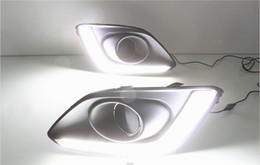 Wholesale Universal Led Daylights Car - Car Flashing 1set For Suzuki Swift 2013 - 2016 LED DRL Daytime Running Light Daylight Waterproof Signal lamp car-Styling light