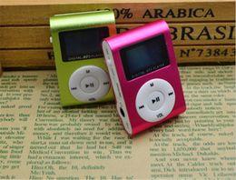 melhor mp3 player portátil usb Desconto Mini clipe mp3 player de música com tela de lcd rádio fm portátil digital