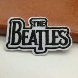 Wholesale Punk Music - PUNK ROCK MUSIC LOGO Embroidered Iron On patches Badge Applique Patch Cloth Jaccke DIY Accessory