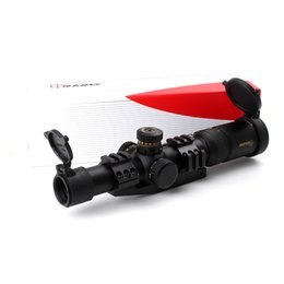 Retículo sniper escopo do rifle on-line-Tactical SNIPER NT 1-6X24 L Caça Riflescopes Mira Óptica Compact Mil dot Vidro Gravado Reticle R / G Llluminate Rifle Scope