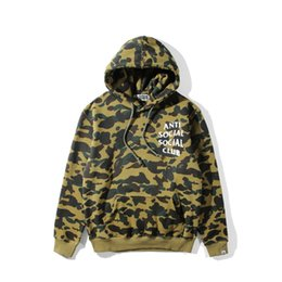 Wholesale High Neck Pullover For Women - New High Street Men's Sweater ASSC Hedging Pullover Hooded Sweater Hoodies For Men Women Camouflage Hoodies