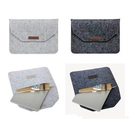 Wholesale Laptop Cases For Macbook Pro - Fashion Soft Sleeve Bag Case For Apple Macbook Air Pro Retina 11 12 13 15 Laptop Anti-scratch Cover For Mac book