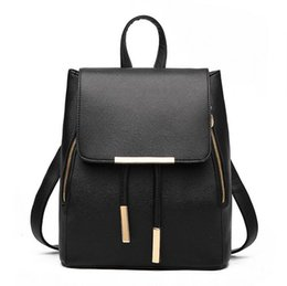Wholesale Leather Backpack Purses - 2017 Luxury brand handbags women shoulder bags Fashion designer totes purses ladies leather bags female business bolsas