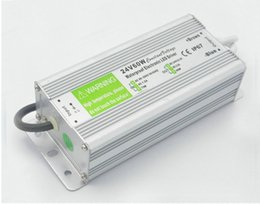 Wholesale Input Modules - DC 12V 60W 10WW 150W 200W Transformers Switching power supply led driver adapter input AC 110V 220V for outdoor led strip Lighting module