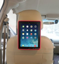 Wholesale Ipad Case For Car - 10pcs Ipad Cases Cover Car Stand mounts Defender waterproof shockproof Robot Case TPU PC Tablet cases cover for ipad 2 3 4