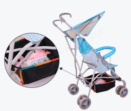 Wholesale Umbrella Bag Free Shipping - Wholesale- Baby stroller basket stroller accessories car umbrella mesh bag general storage bag free shipping