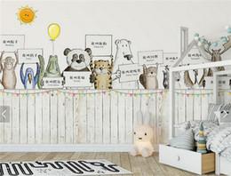 Тележки онлайн-Европейский картон детская спальня настенная роспись фото обои телевизор диван фон декор стены большие фрески роскошные обои рулоны 3d