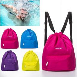Wholesale Travel Multi Purpose Bag Wholesale - Dry Wet Depart Bag Multi-purpose Waterproof Swimming Bag Dry Sack Fitness Storage Travel Outdoor Sport Dry Wet Bag LJJK696