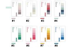 calendario del libro de recuerdos Rebajas Al por mayor-Etiqueta de color Four season memo pad Notas adhesivas creativas Papelería Oficina memos escolares School supplies (dd-2729)