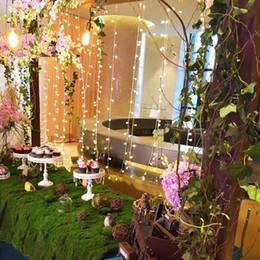 Wholesale Portable Led Fairy Light Balls - Solar Powered 7m 50led ball string lighting LED Fairy tale String Light for Garden Wedding Christmas Birthday Party