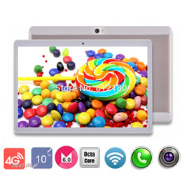 Wholesale Italian Network - Wholesale- 2017 Newest 10 inch tablet pc 4G LTE Network Octa Core 4GB RAM 32GB ROM 8 Cores 1920*1200 IPS HD Tablets 10 10.1 DHL Free ship