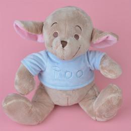Wholesale Toys Kangaroos - 35cm Brand New Soft Stuffed Animals Kangaroo Plush Toy, Winnies' Friend Roo Baby Kids Doll Gift Free Shipping