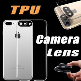 Wholesale Slim Case Iphone Free - Ultra Thin Slim Transparent Clear Shockproof Camera Lens Protection Soft TPU Cover Case for iPhone 8 7 Plus 6 6S Free Shipping