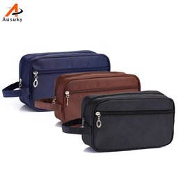 Wholesale Waterproof Toiletry Kits - Wholesale- Brand Waterproof Man Unisex Portable Cosmetic Bag Travel Cosmetics Bag Trousse De Maquillage Necessaire Women Toiletry Kits 45