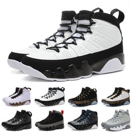 Wholesale Cheap Satin Shoes - [With Box]2017 Cheap Retro 9 IX Basketball Shoes For Men, Fashion High Quality Sneakers Trainer Athletics Boots Retros J9 Outdoor Shoes Eur