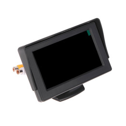 """Wholesale Rearview Systems - 4.3"""" Color TFT LCD Car Monitors Car Reverse Rearview Parking System for Car Backup Rear view Camera Styling"""