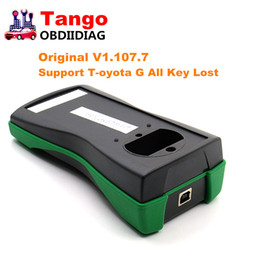 Wholesale Tango Programmer - Original Tango Key Programmer V1.107.7 + For Toyota Key Maker Authorization +Tango OBD Cable Support For Toyota G All Key Lost