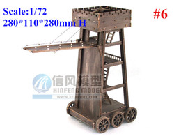 Wholesale Diy Weapon - 1 72 Ancient Siege Car Siege Vehicle Antique Battlefield Weapon model kit #6