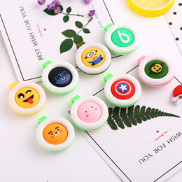 Wholesale Natural Herbs Wholesale - Natural Herb Anti Mosquito Buckle Outdoor Cartoon Solid Buckle Portable Hanging Mini Mosquito Repellent Baby Pest Reject