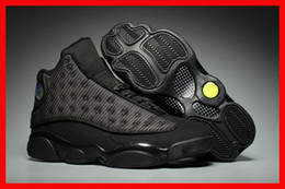 Wholesale Baseball Cat - air retro 13 black cat basketball men shoes retro 13s XIII cheap sport designer shoe luxury running trainers sneakers sale online low price